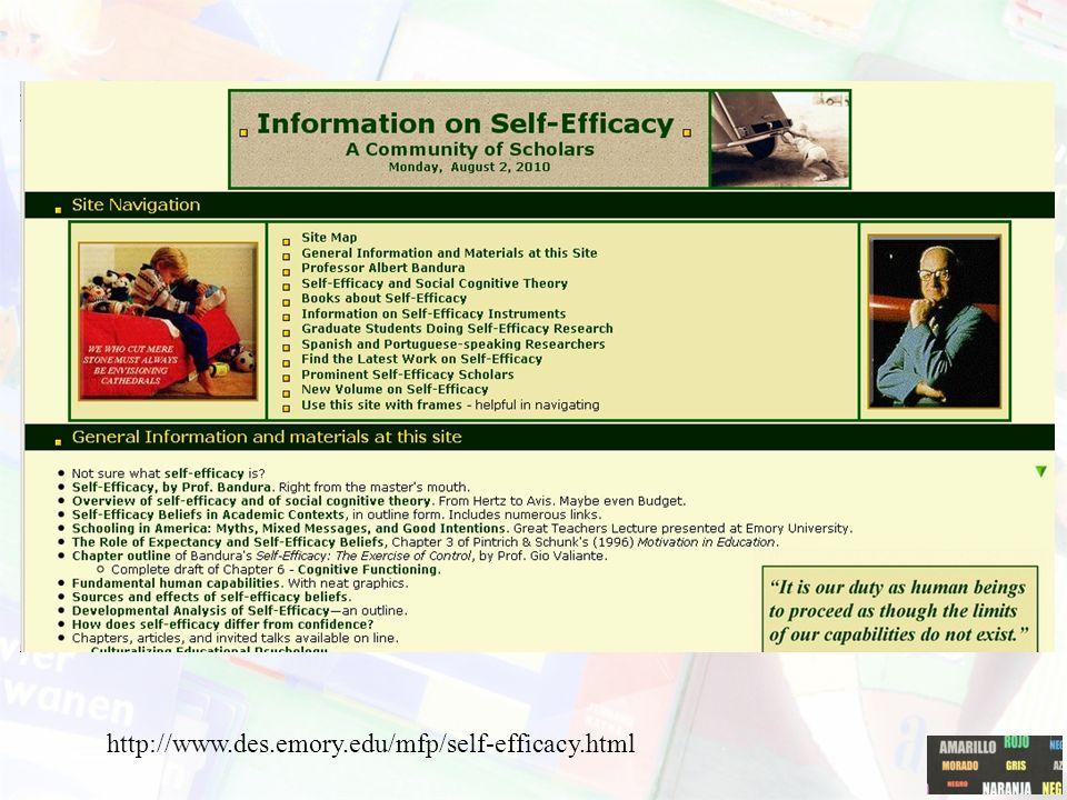 SLT: self-efficacy Door verwachtingen en vicarious experiences ontwikkeling van self- efficacy. Self-efficacy ~ leerprestaties