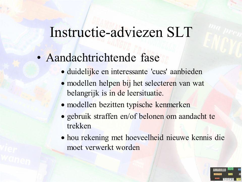 Motivationele processen Externe en interne motivators of incentives: –externe: geld, voordelen,... –intern: zelfevaluatie