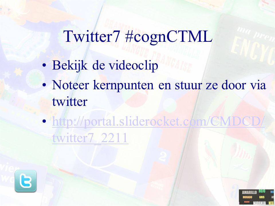 Youtube clip Algemene inleiding op CTMLhttp://www.youtube.com/watch ?v=JoL7BbWRNcghttp://www.youtube.com/watch ?v=JoL7BbWRNcg Inleiding op modality pr