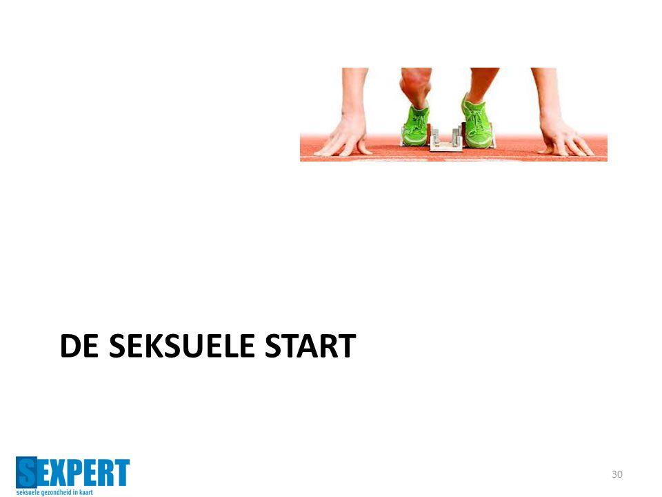 DE SEKSUELE START 30