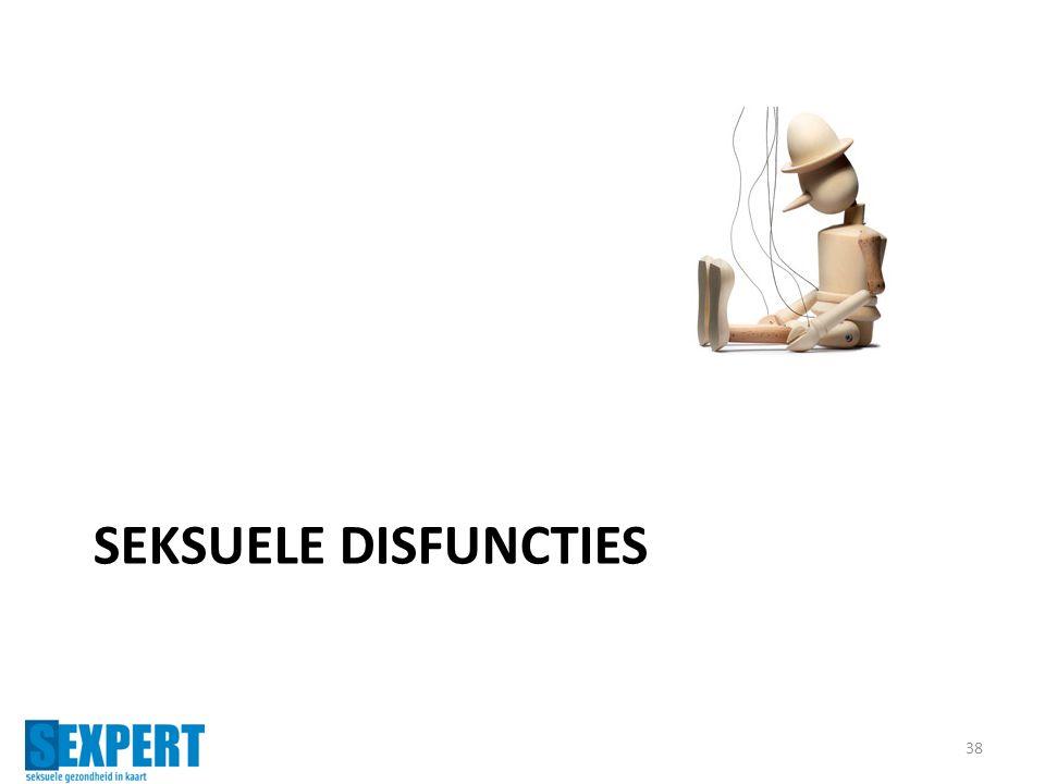SEKSUELE DISFUNCTIES 38