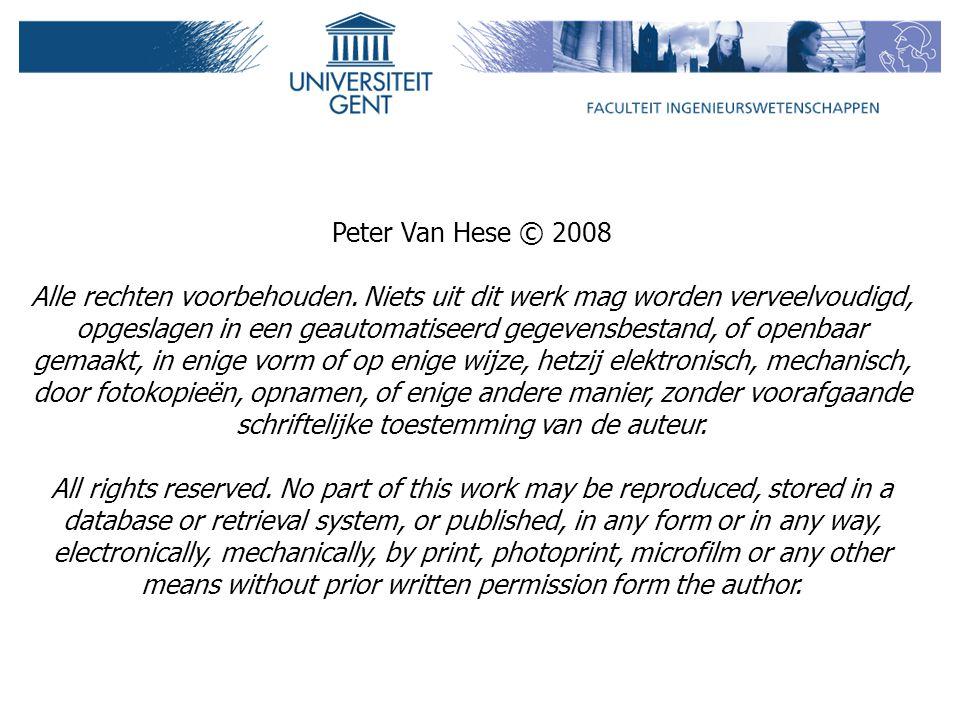 Peter Van Hese © 2008 Alle rechten voorbehouden.