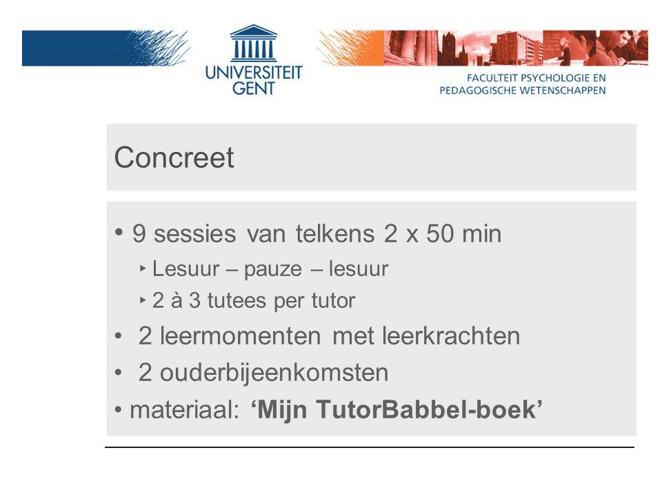 Links Onderzoeksrapport 'Tutors maken het verschil': http://www.kbs- frb.be/publication.aspx?id=229338&LangT ype=2067http://www.kbs- frb.be/publication.aspx?id=229338&LangT ype=2067 Studiedag Student tutoring: http://www.kbs- frb.be/event.aspx?id=227872&LangType=2 067http://www.kbs- frb.be/event.aspx?id=227872&LangType=2 067