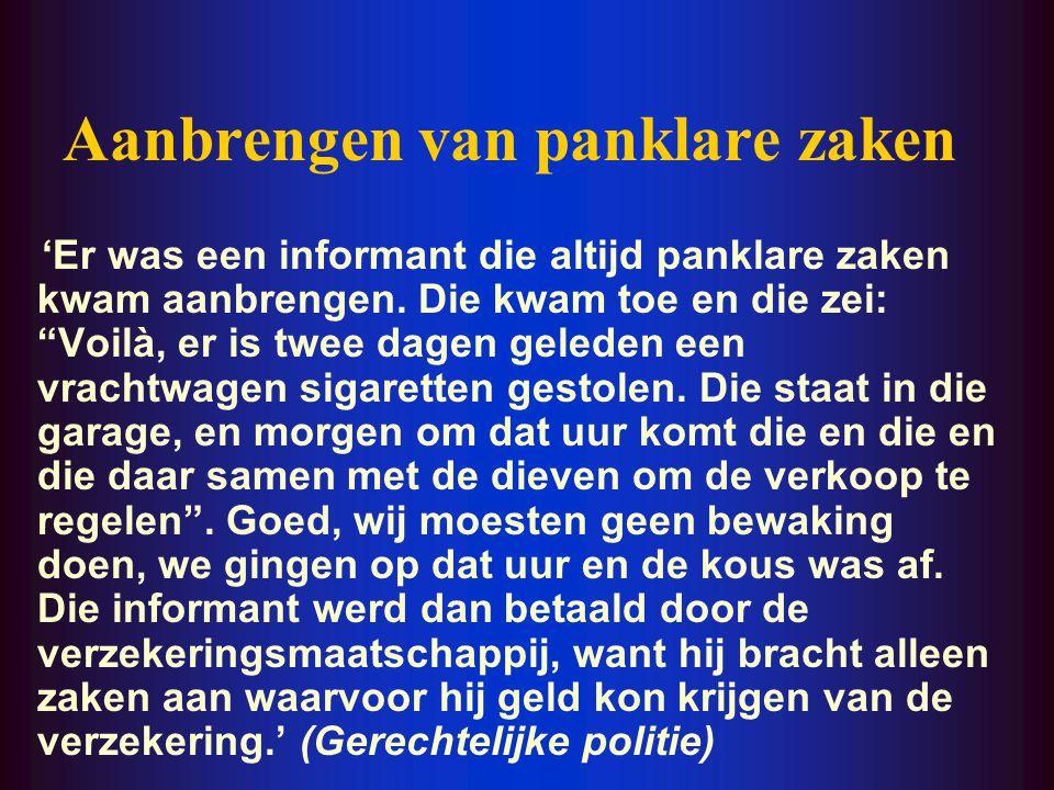 Opwekken van de interesse bij politie ' Ge hebt hier de B.A.F., de Belgian Antipiracy Foundation, een VZW die gesponsord wordt door alle grote produkt