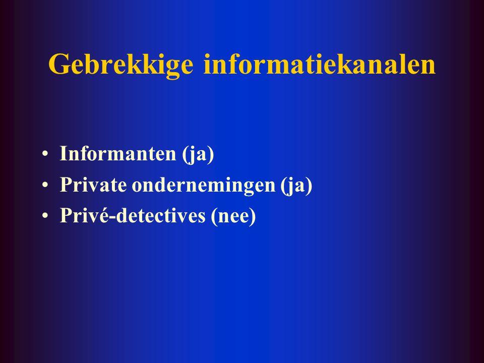 Gebrekkige know-how 'Undercoveragenten van de DEA moeten naar de FBI-school, plus drie jaar training als undercover. In Duitsland hetzelfde. Als de Be