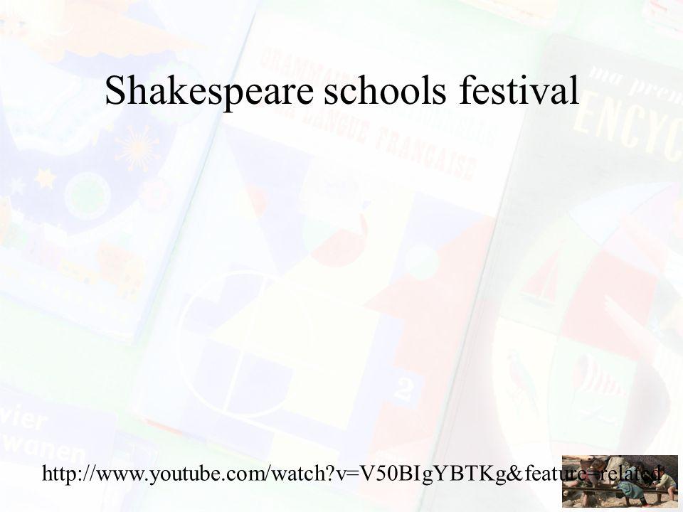 Twitter6 #constrTHEATER http://www.youtube.com/watch?v=OaU15GApmks&feature =player_embedded Waarom heeft het leren van Engels via een theaterstuk een verwacht leereffect.