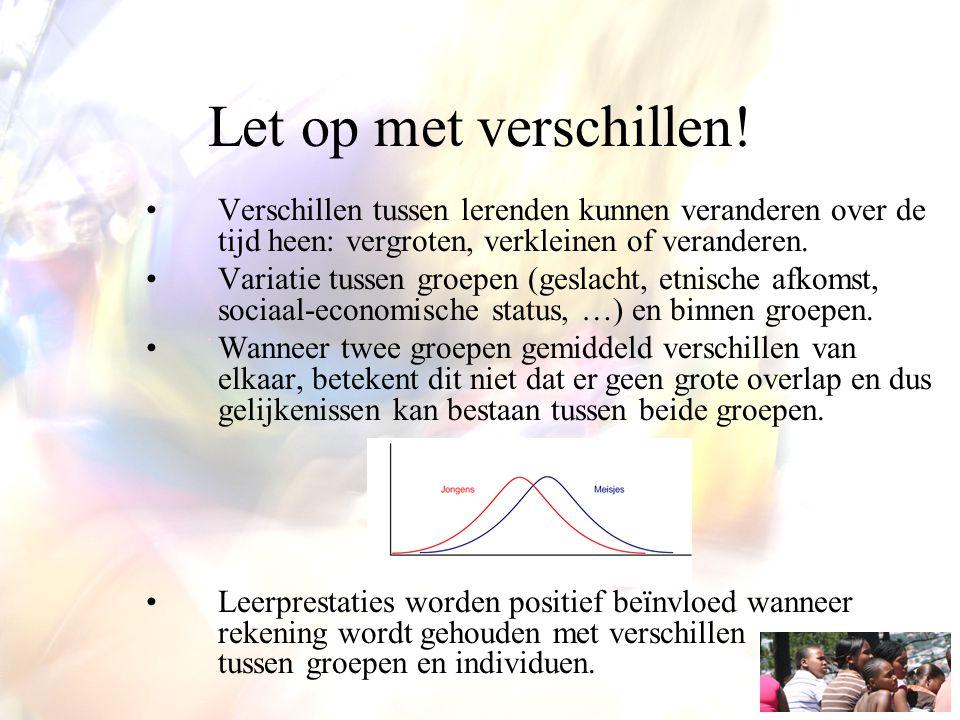 Geslacht en instructie Bewust worden over eigen 'gender bias'.