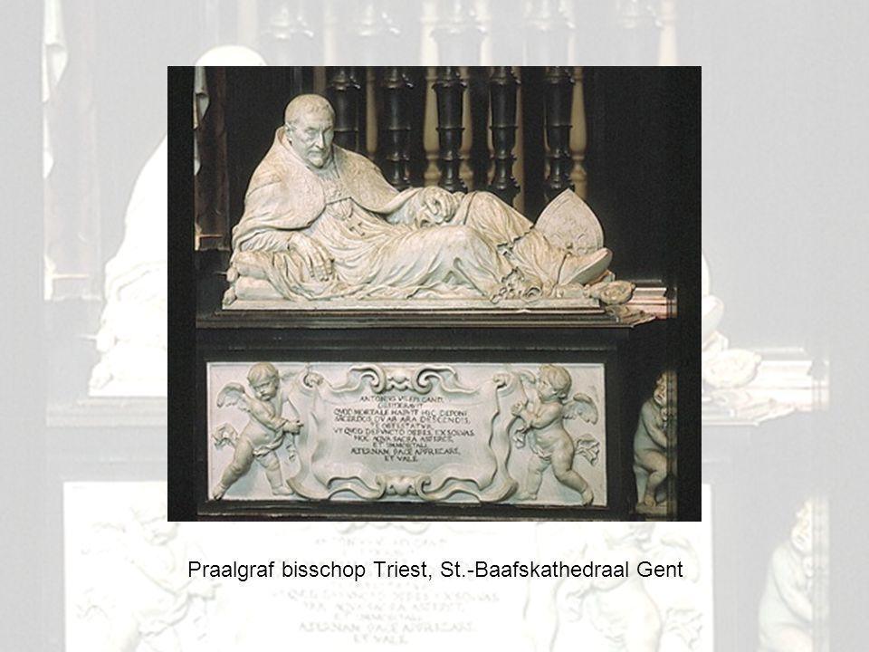 4 Praalgraf bisschop Triest, St.-Baafskathedraal Gent