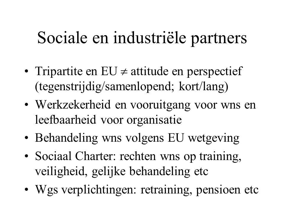 IR en stakeholders (1) Stakeholders = allen betrokken bij org.: personeel etc p.