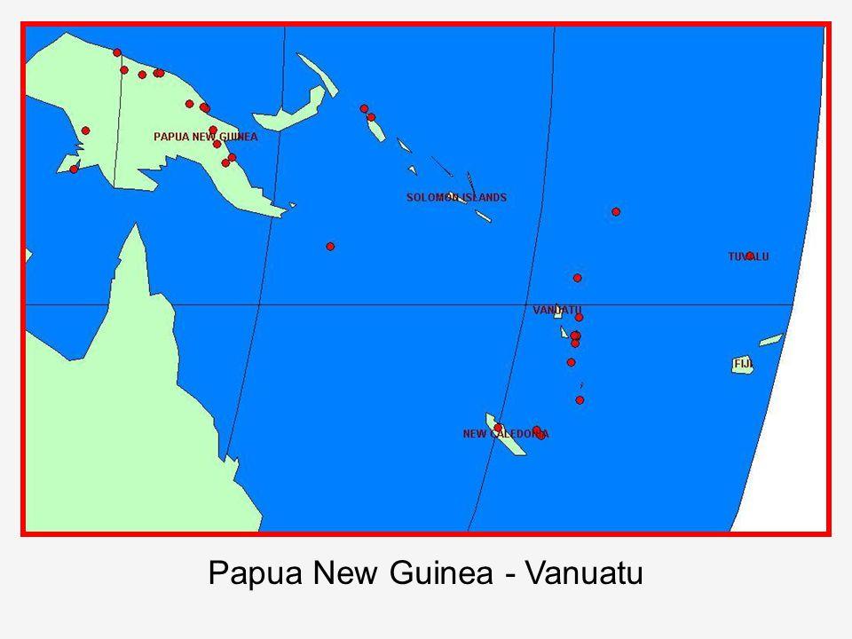 Papua New Guinea - Vanuatu