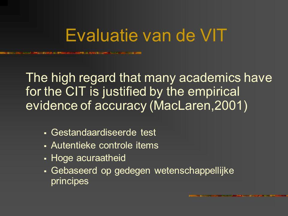 VIT: gebaseerd op wetenschappelijke principes.