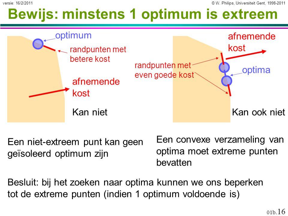 © W. Philips, Universiteit Gent, 1998-2011versie: 16/2/2011 01b.