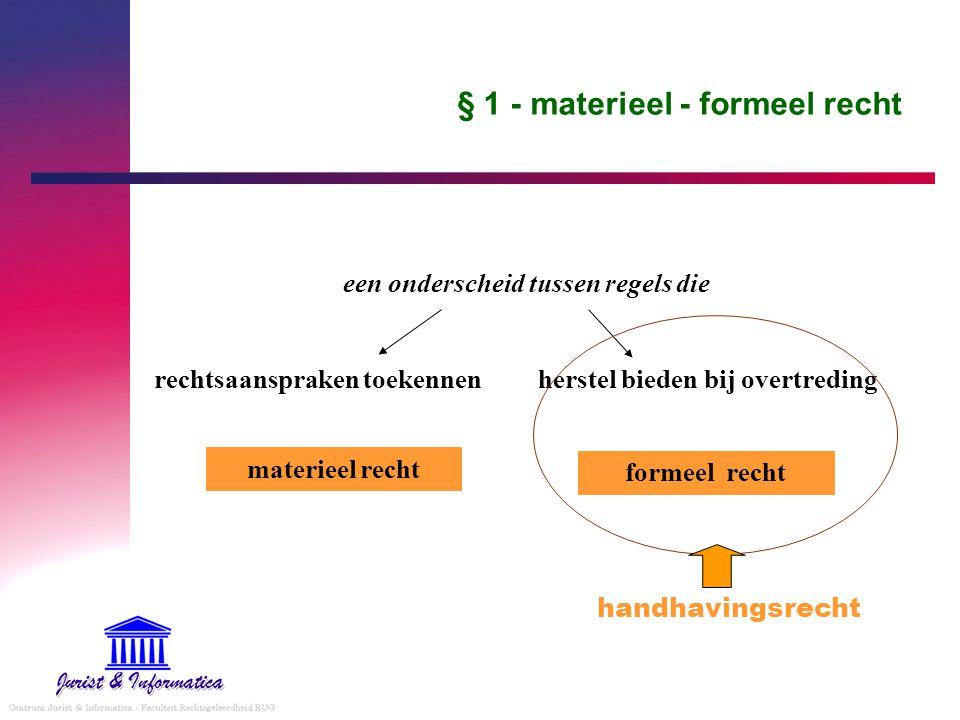 3. hoe gaat recht te werk juridische beslissing logisch niveau regelniveau procedure niveau