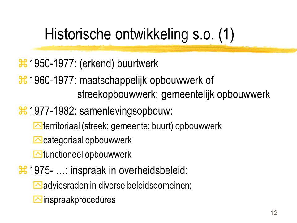 12 Historische ontwikkeling s.o.