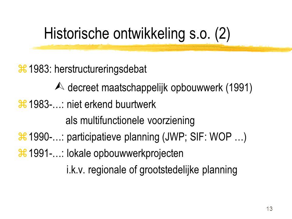 13 Historische ontwikkeling s.o.