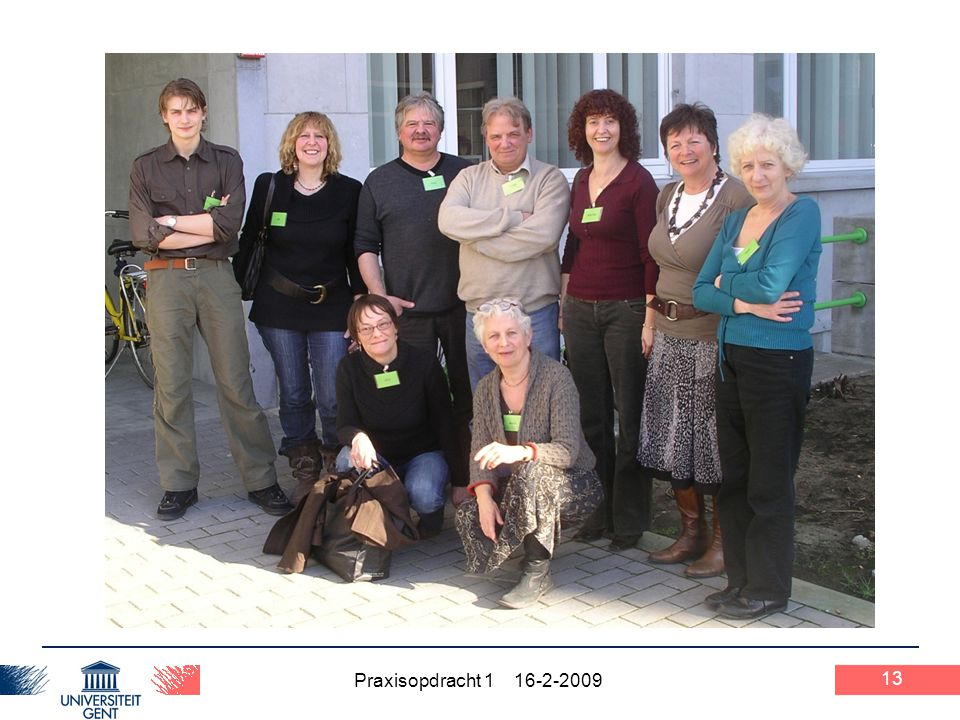 Praxisopdracht 1 16-2-2009 13