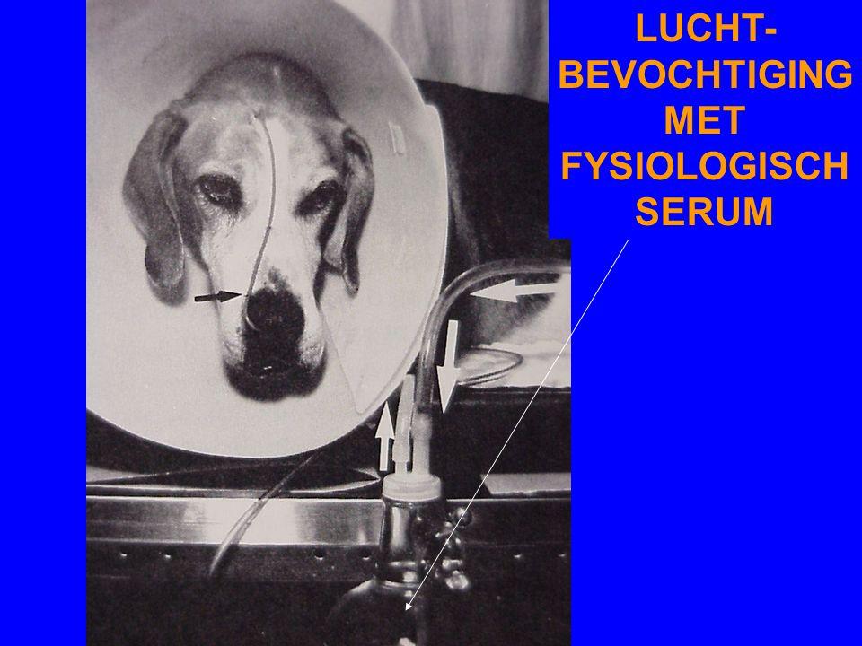 LUCHT- BEVOCHTIGING MET FYSIOLOGISCH SERUM