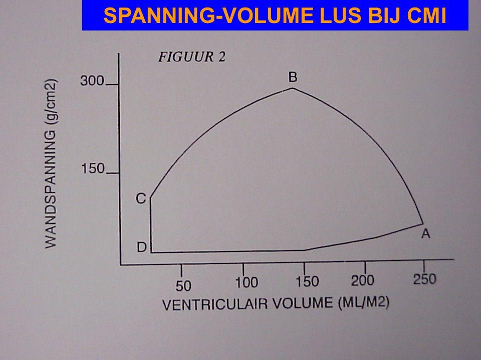 SPANNING-VOLUME LUS BIJ CMI