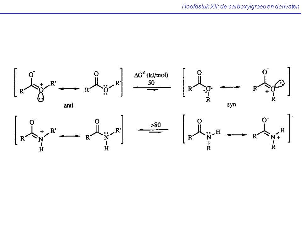 Hoofdstuk XII: de carboxylgroep en derivaten