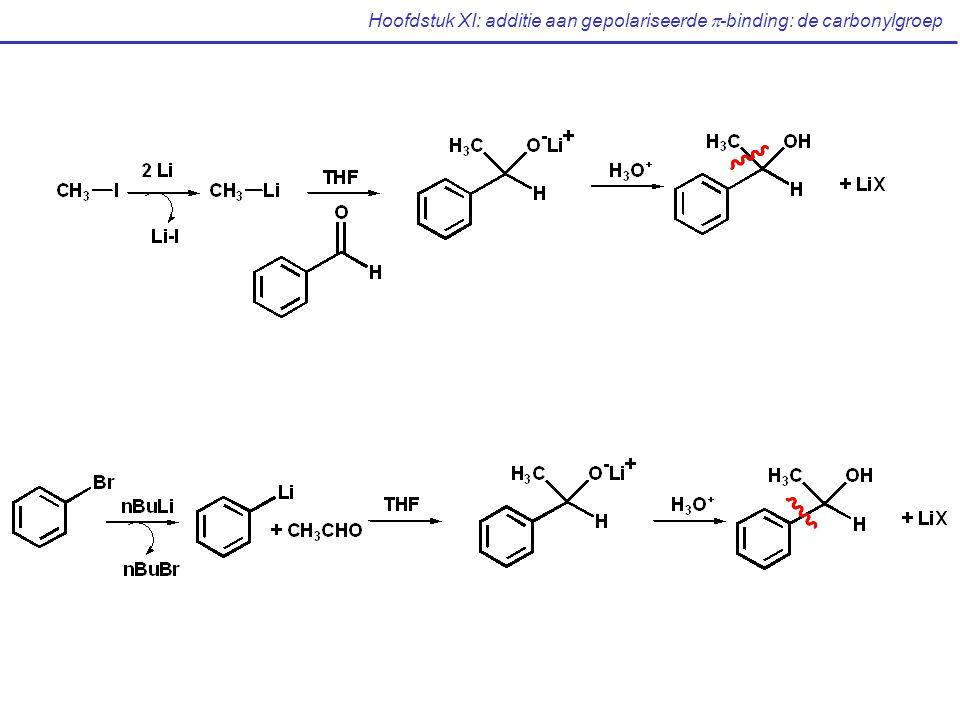 Hoofdstuk XI: additie aan gepolariseerde  -binding: de carbonylgroep