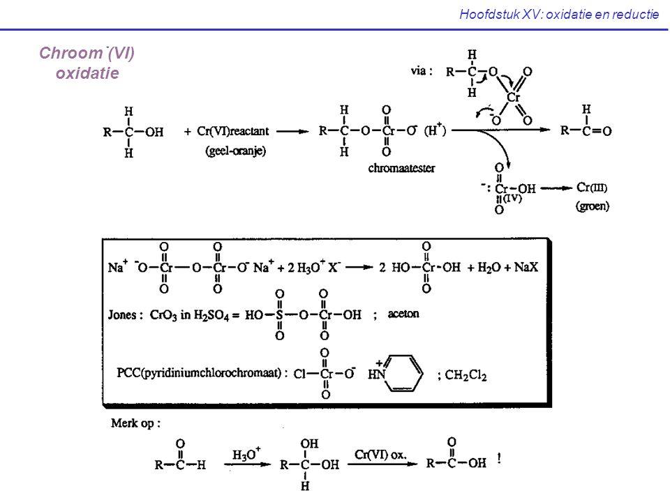 Hoofdstuk XV: oxidatie en reductie Chroom (VI) oxidatie