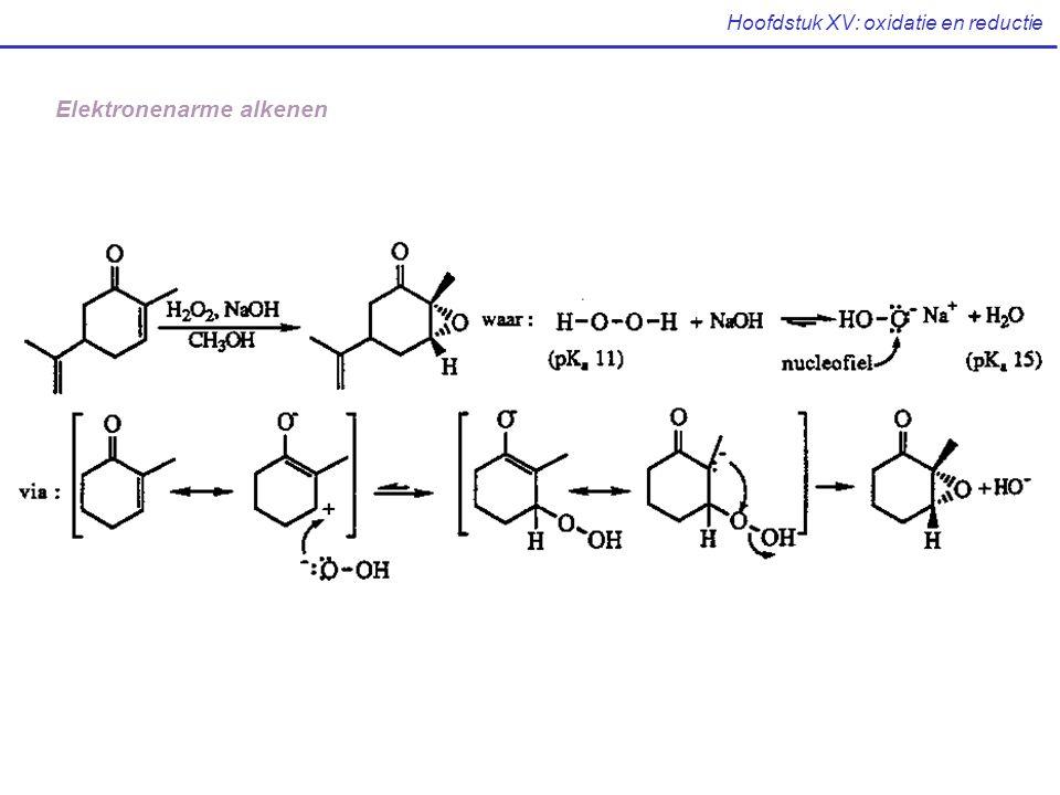 Hoofdstuk XV: oxidatie en reductie Elektronenarme alkenen