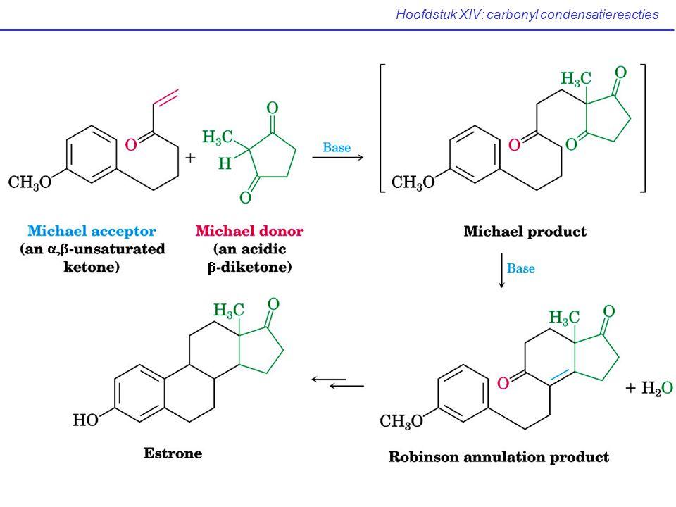 Hoofdstuk XIV: carbonyl condensatiereacties