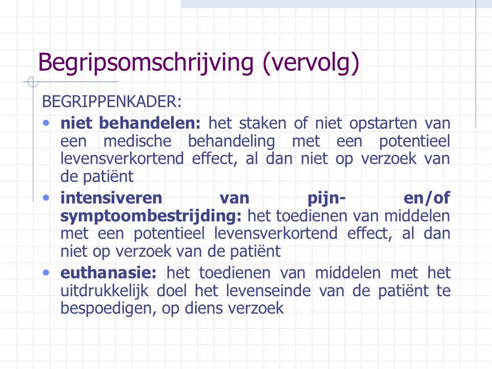 Vooronderzoek VRT Studiedienst ism Chi Kwadraat, Ketnet- programma 'Mijn gedacht!': onderzoek naar mening Vlaamse kinderen omtrent euthanasie, drie Vlaamse scholen, 225 leerlingen, niet representatief Interviews: meisje 13 jaar, hersentumor; jongen 9 jaar, leukemie + syndroom van Guillain-Barré