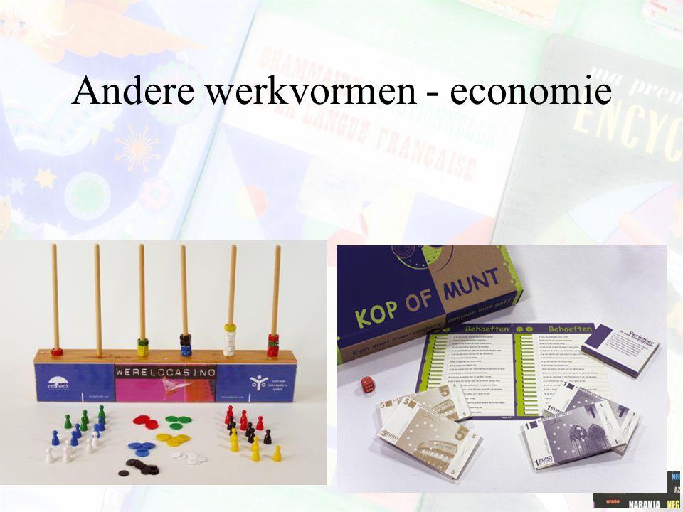 Andere werkvormen - economie