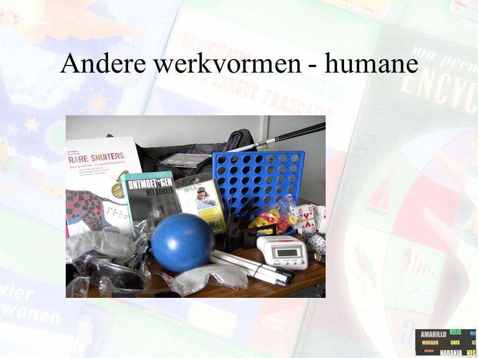 Andere werkvormen - humane