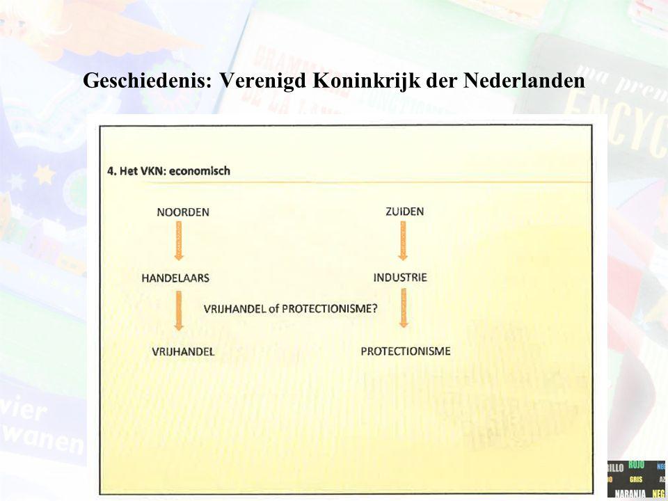 Geschiedenis: Verenigd Koninkrijk der Nederlanden
