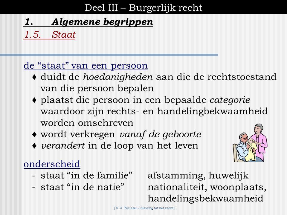 [ K.U. Brussel - inleiding tot het recht ] Deel III – Burgerlijk recht 1.Algemene begrippen 1.4.Geldigheid en nietigheid van rechtshandelingen B. Gevo