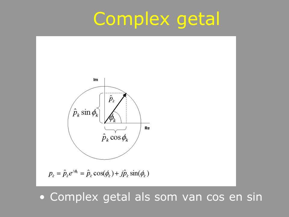 Complex getal