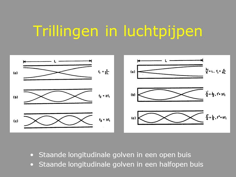 Systemen met meerdere trillingsmodes Vier vrijheidsgraden Meerdere Trillingsmodes