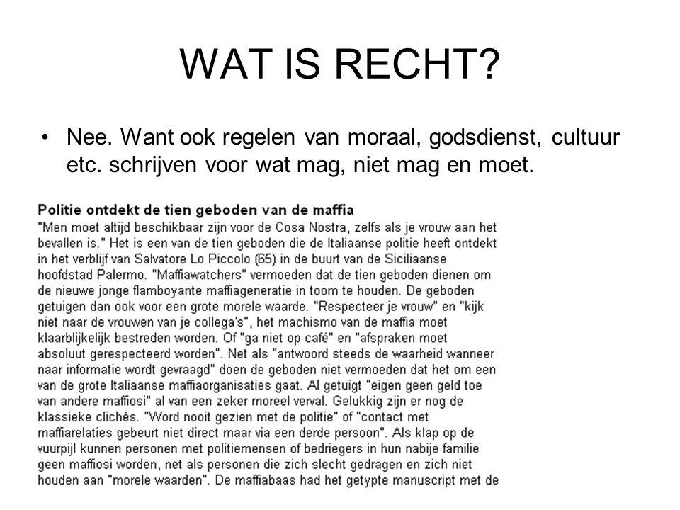 WAT IS RECHT.3.