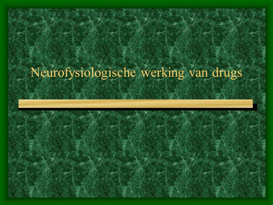 Neurofysiologische werking van drugs