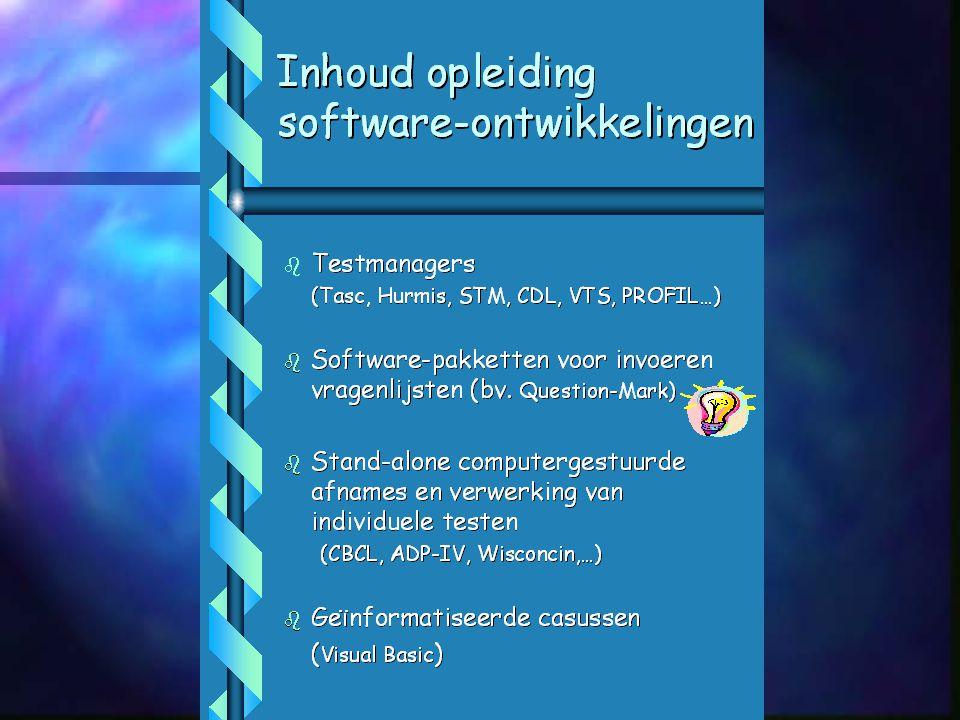 Website-Weg-Wijzer voor Psychodiagnostiek Tijdschrift Klinische Psychologie, 2001, vol. 31, nr.1 maart Deel 1 : het zoeken naar informatie over tests