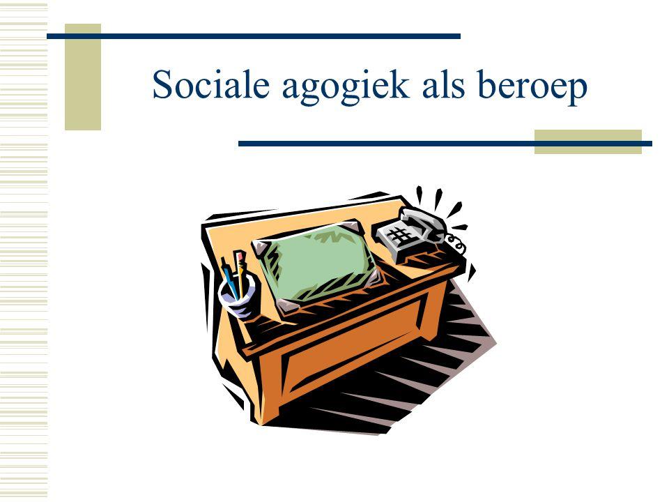 Sociale agogiek als beroep