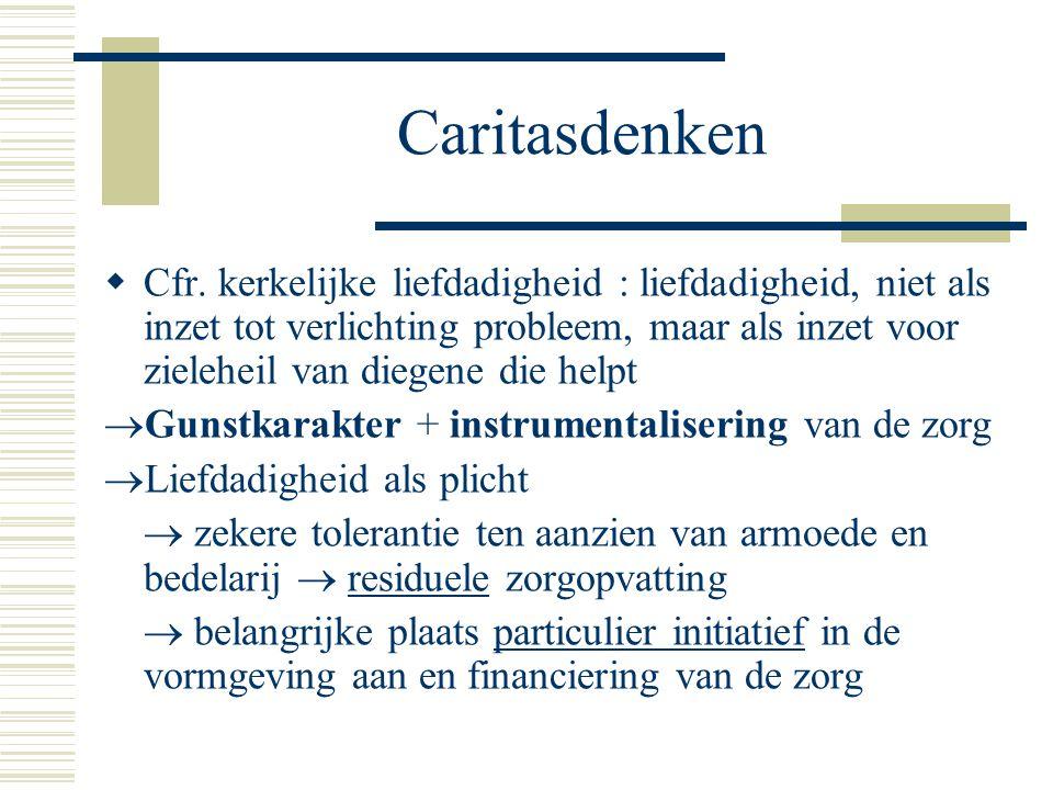 Caritasdenken  Cfr.