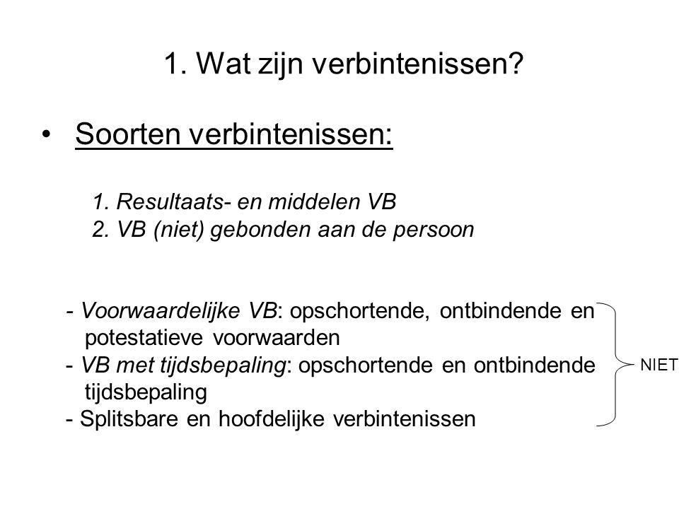 3.Overeenkomst: definitie en soorten 3.