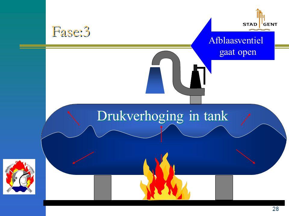27 Vloeistof in tank gaat koken Fase:2