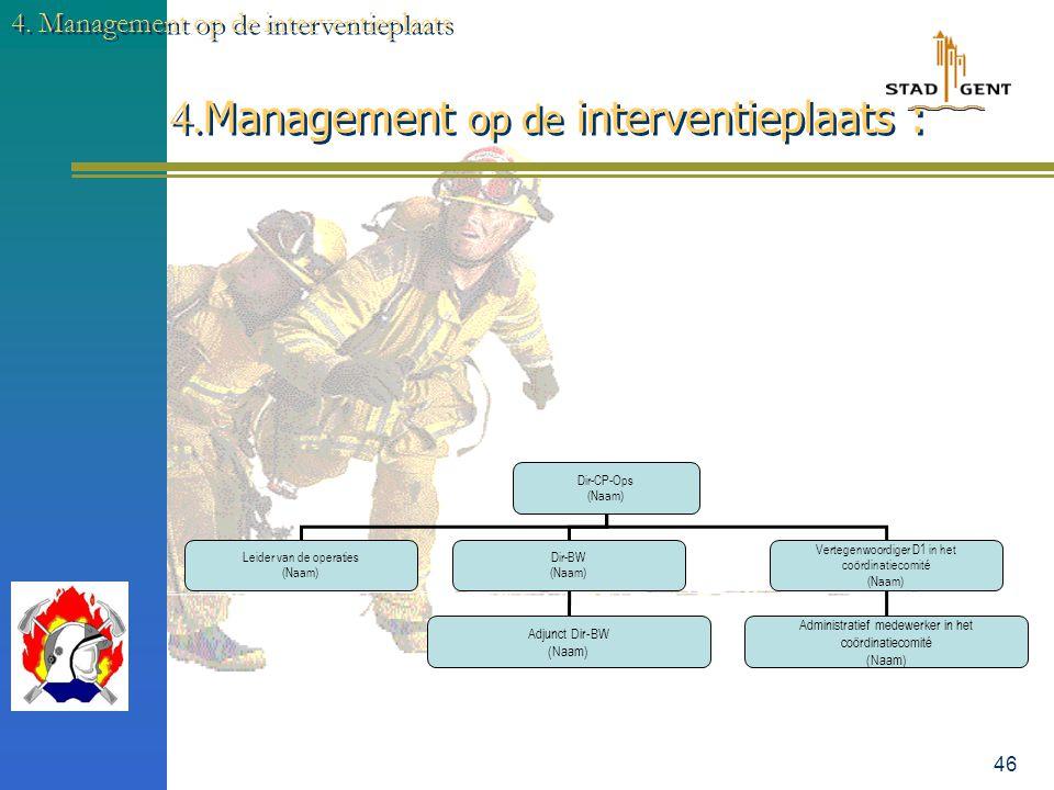 ALGEMEEN STRUCTUUR monodisciplinair plan discipline 1 − aard incident − aanvraag tussenkomst bepaling ernstgraad organisatie rampterrein noodzakelijke