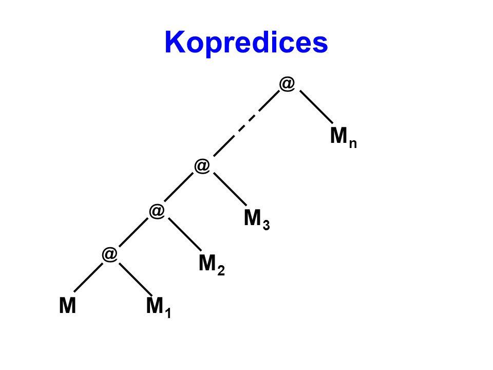 Kopredices @ MnMn @ MM1M1 @ M2M2 @ M3M3