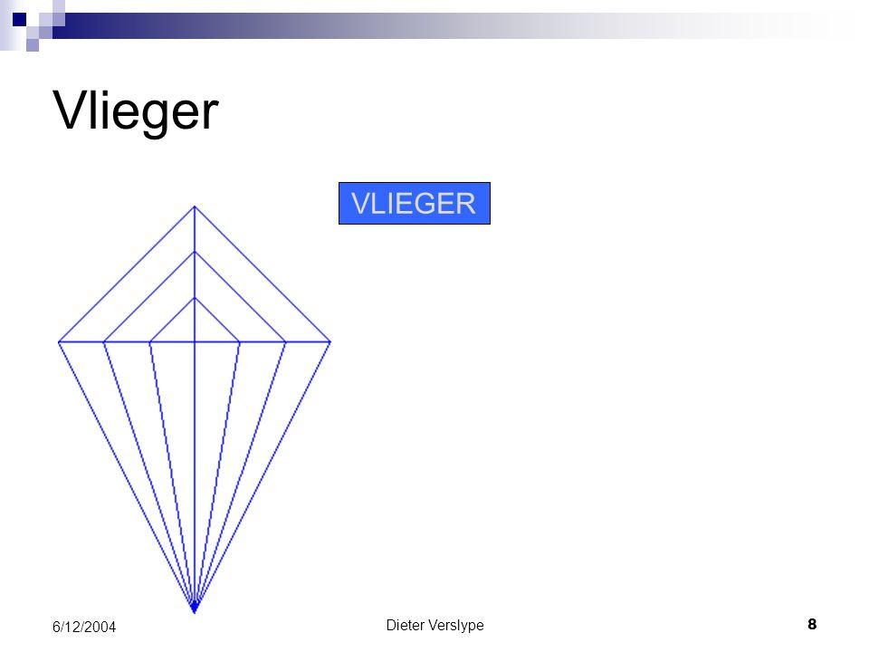 Dieter Verslype8 6/12/2004 Vlieger VLIEGER