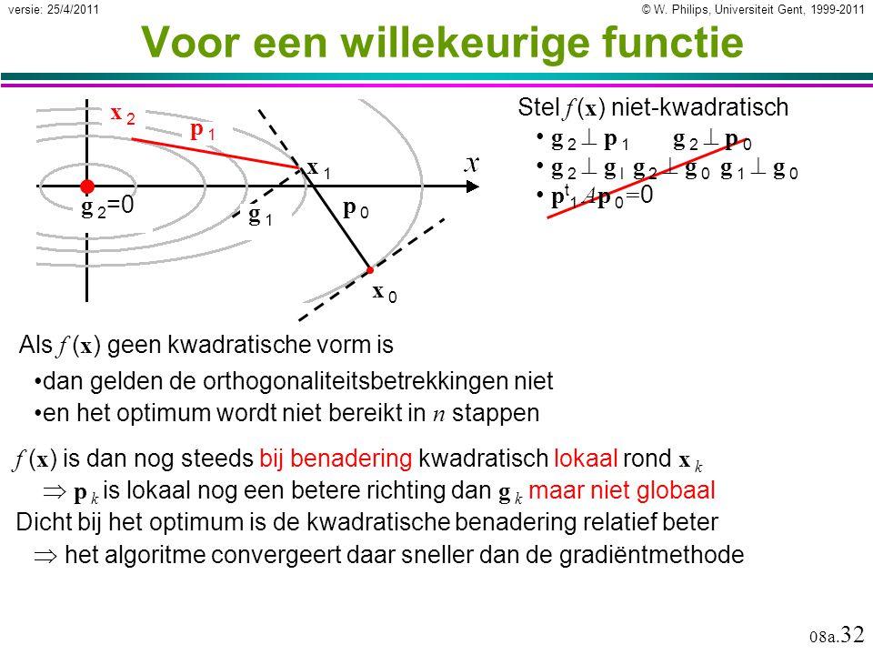 © W. Philips, Universiteit Gent, 1999-2011versie: 25/4/2011 08a.