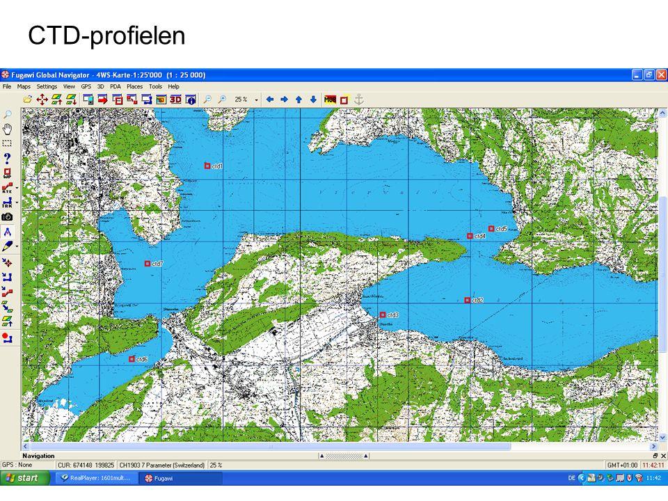 Excursie Meer van Luzerne Partim Biologie CTD-profielen