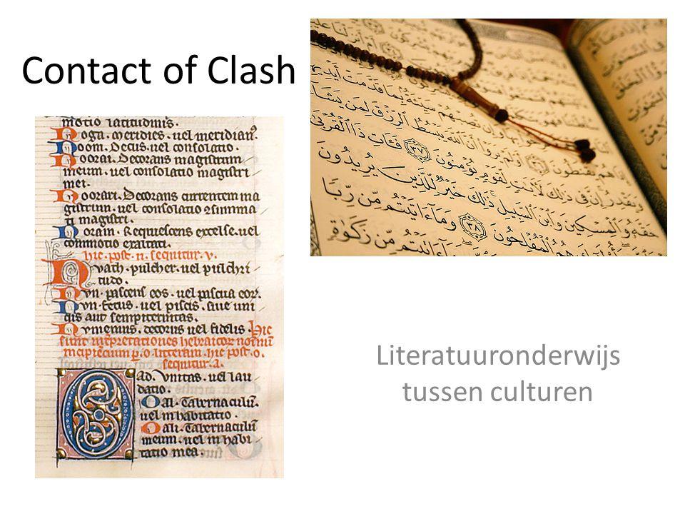 Contact of Clash Literatuuronderwijs tussen culturen