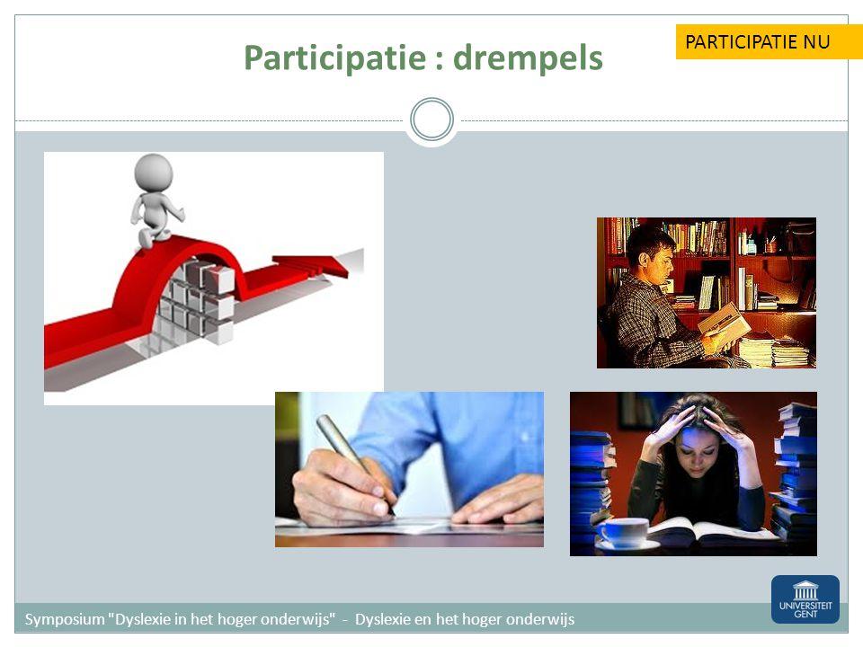 11 Participatie normafhankelijk PARTICIPATIE VROEGER