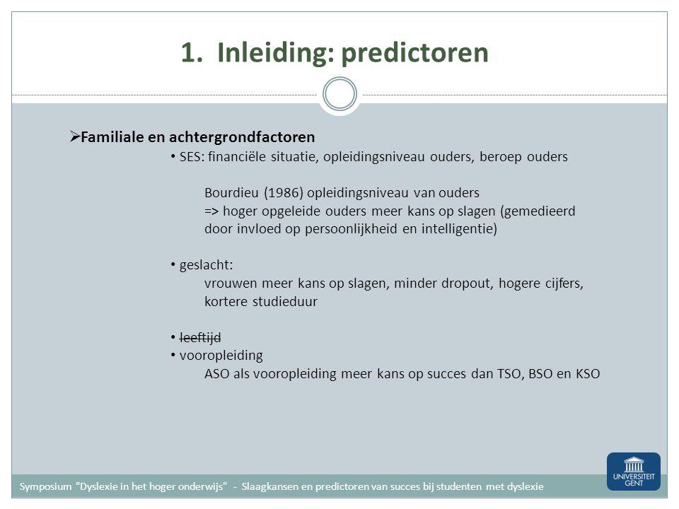 Meer info Symposium Dyslexie in het hoger onderwijs Contactpersonen maaike.callens@ugent.be w.tops@rug.nl annemie.desoete@ugent.be valerie.vanhees@arteveldehs.be marc.brysbaert@ugent.be Doctoraten Tops, W.