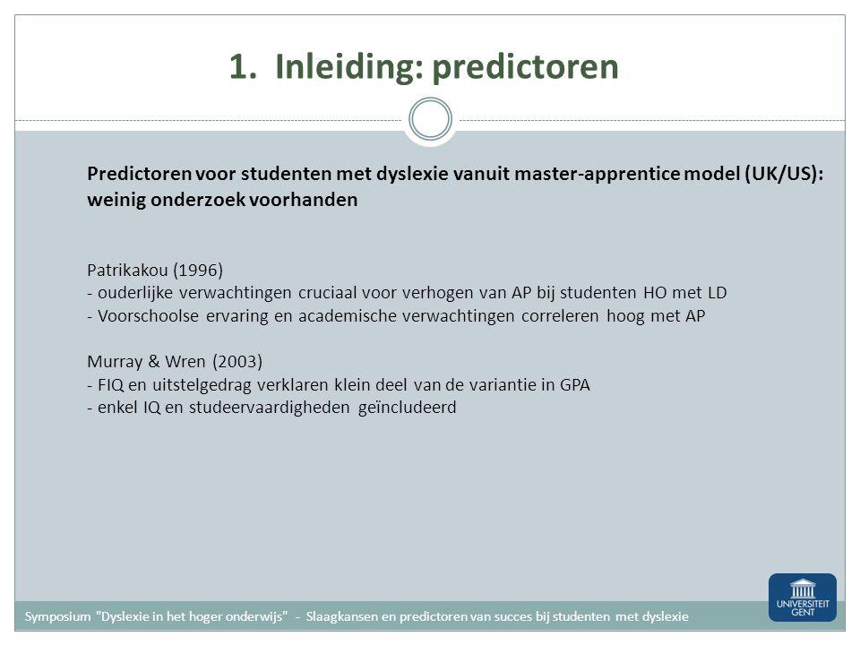 Handelingsgerichte diagnostiek Systematische analyse van de problemen/moeilijkheden (= hulpvraag) 1.